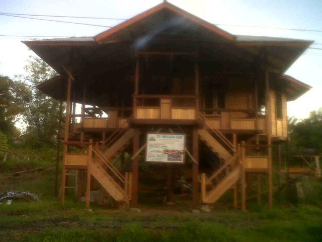 Foto: Rumah Kayu Knockdown