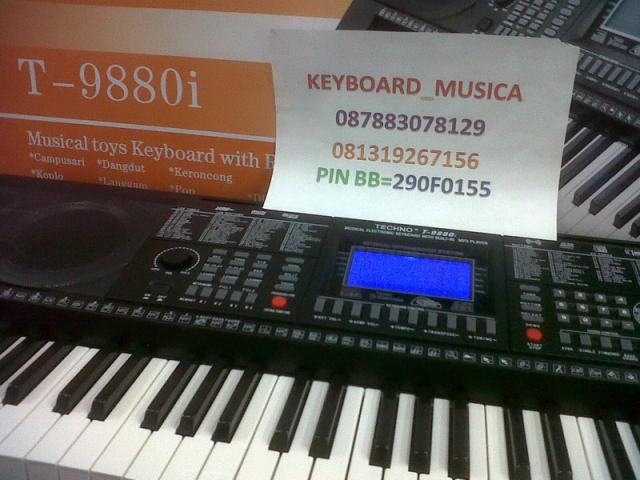 Foto: Keyboard Techno T9880i Terbaru Tuts Piano:orion
