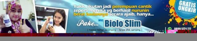 Foto: Distributor Pelangsing Biolo