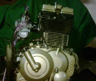 Foto: Mesin Motor Satria Fu Segelondongan