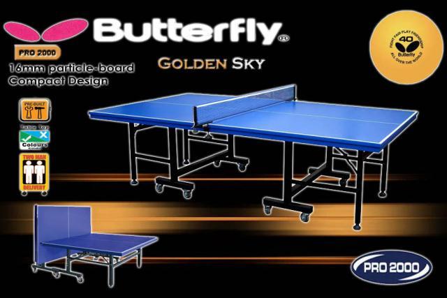 Foto: Tenis Meja Pingpong Butterfly