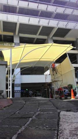 Foto: Tenda Membrane Canopy Kain Awning Jakarta