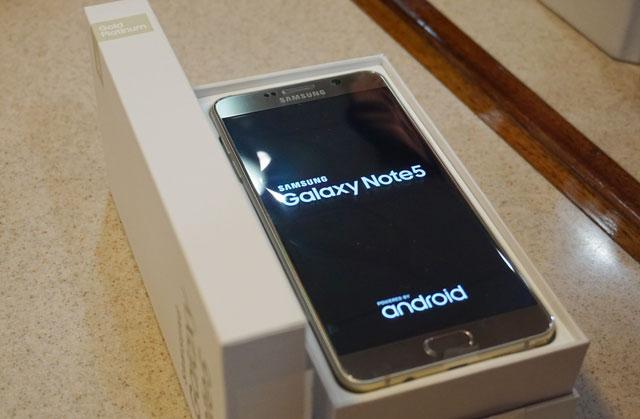 Foto: Samsung Galaxy Note 5 Ori