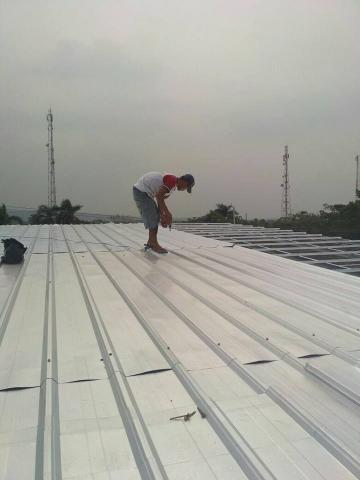 Foto: Jasa Pasang Rangka Atap Baja Ringan Murah