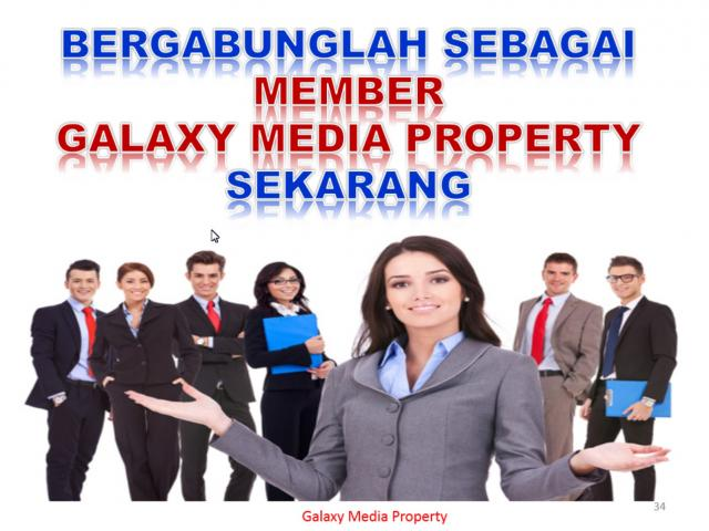 Foto: Dibutukan Marketing Property Freelance PT. Galaxy Media Property