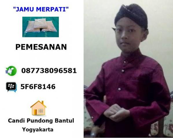 Foto: Jamu Merpati Yogyakarta