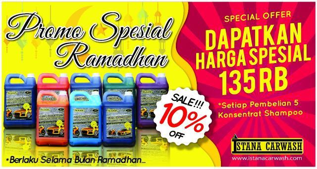 Foto: Promo Ramadhan 1 Paket Diskon 10% Konsentrat Shampoo Ikame